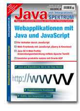 Webapplikationen mit Java und JavaScript