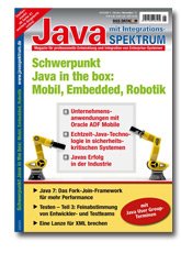 Java in the box: Mobil, Embedded, Robotik
