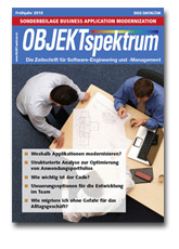 Business Application Modernization (Sonderbeilage in OBJEKTspektrum 02/2010)